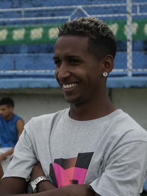 O meia Feijão deixou o Vitória antes da Copa ES (Foto: Richard Pinheiro/GloboEsporte.com)