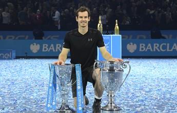Murray domina Djokovic, leva título do ATP Finals e fecha ano como número 1