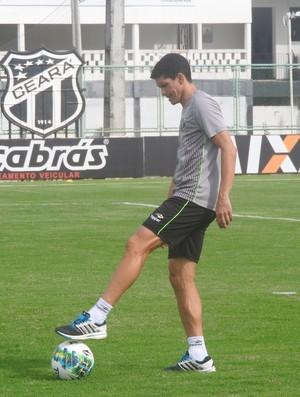 Magno Alves, atacante do Ceará (Foto: Eduardo Trovão/TV Verdes Mares)