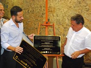 Secretário de Cultura do Rio, Marcelo Calero, participou da inauguração (Foto: Divulgação / Secretaria Municipal de Cultura)