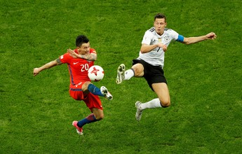 "Draxler valoriza empate diante de Chile ""experiente e mais estrelado"""