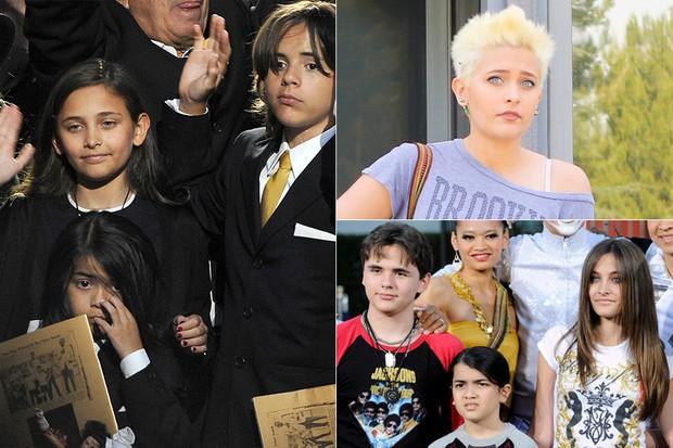 Crianças - Filhos de Michael Jackson (Foto: Agência Getty Images - AKM-GSI / AKM-GSI)
