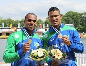 Erlon de Souza, Ronilson Oliveira, Copa do Mundo, canoagem (Foto: Divulgação/CBCa)