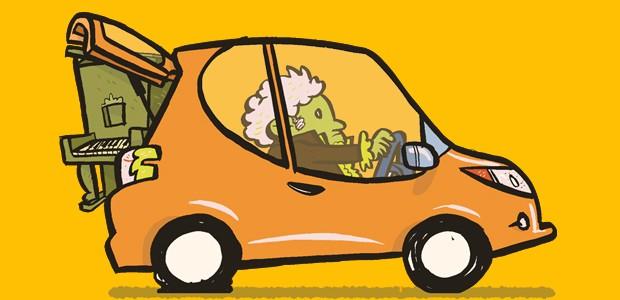 Manias no carro - Carregar tralhas no porta-malas (Foto: André Valente/Autoesporte)