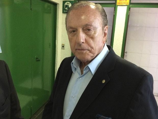 O candidato do PSDC não afirmou se irá apoiar algum candidato no segundo turno (Foto: Helton Gomes/G1)