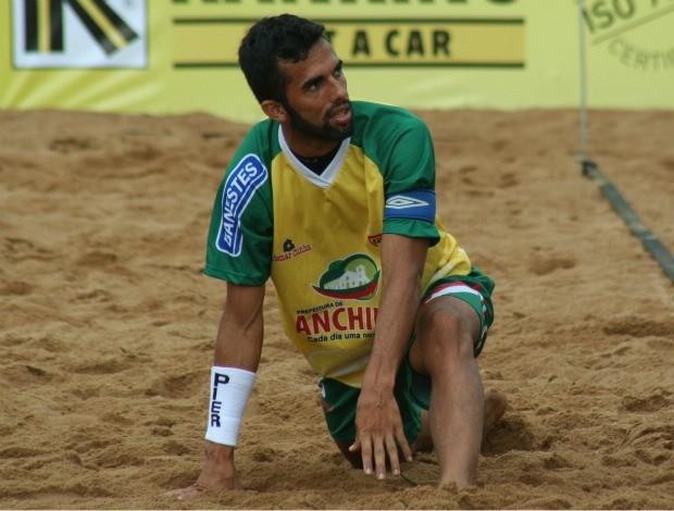Bruno Xavier Anchieta futebol de areia (Foto: Pauta Livre/Divulgação)