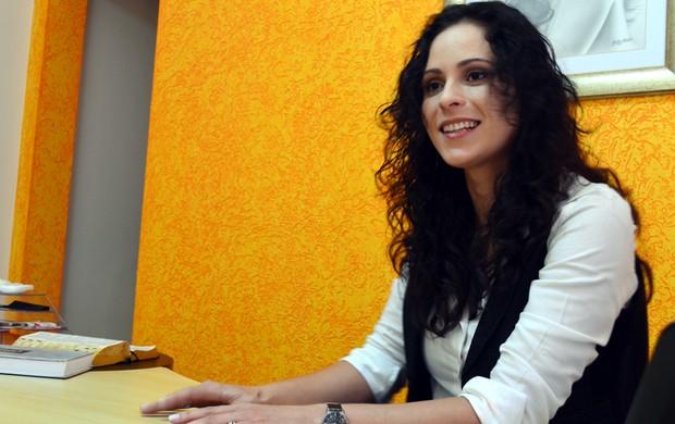 Ana Paula Oliveira foi assistente de arbitragem de 2001 a 2008 (Foto: Guto Marchiori / Globoesporte.com)