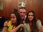Depois de sofrer, Bruna Marquezine comemora a vitória do Brasil