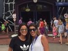 Bruna Marquezine curte folga e visita Universal Orlando