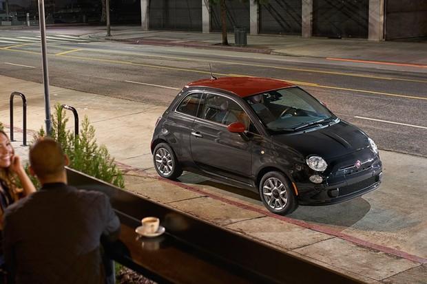 Esquecido no Brasil, Fiat 500 ganha novos pacotes de visual nos EUA (Foto: Divulgação)