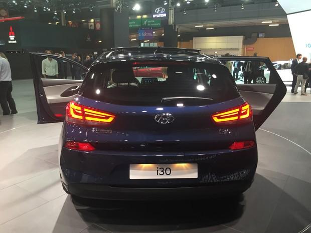 Novo Hyundai i30 (Foto: Luciana de Oliveira/G1)