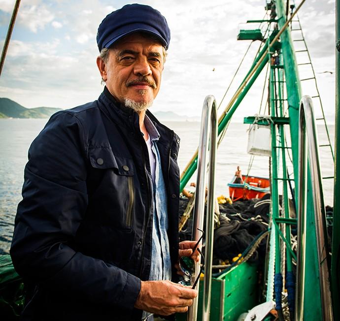 Jean Pierre Noher é o Capitão Patrick de 'Sol Nascente' (Foto: TV Globo / João Miguel Júnior)