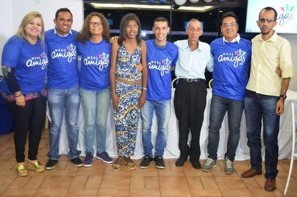 A quipe Azul já foi definida e promete muito empenho (Foto: Divulgação / TV Sergipe)