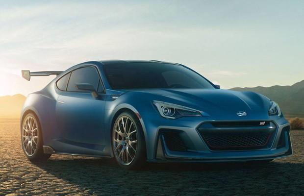 Subaru  BRZ STI Performance Concept (Foto: Divulgação)