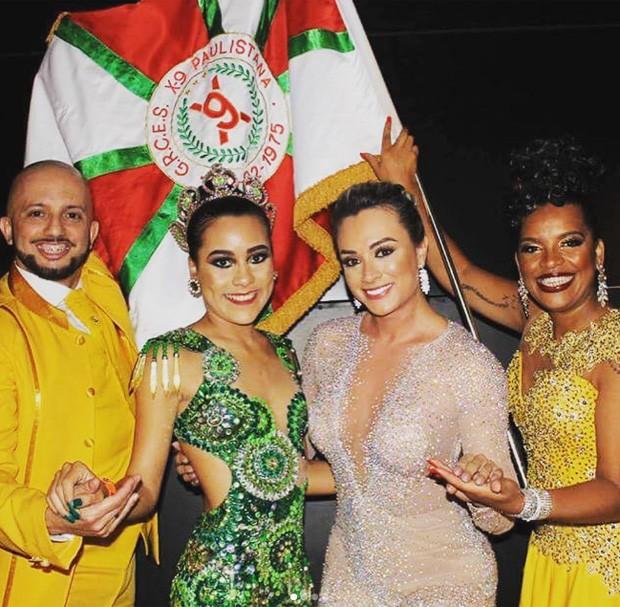 Juju Salimeni em ensaio para Carnaval 2018 (Foto: Reprodução/Instagram)