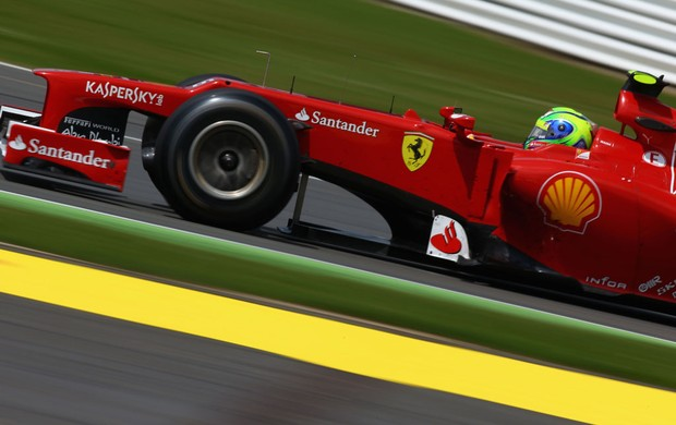 Falipe Massa GP de Silverstone (Foto: Getty Images)