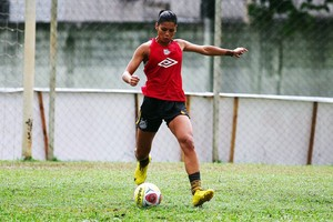 Jogadora amapaense convocada para a Seleção Brasileira Feminina (Foto: Foto: Alline Calandrini/Arquivo Pessoal)