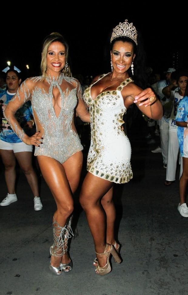 Luisa Mell e Cinthia Santos (Foto: Amauri Nehn/Brazil News)