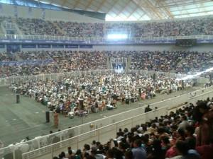 Congresso reúne Testemunhas de Jeová em Cuiabá (Foto: Belmiro Dias/Arquivo pessoal)