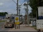Postes instalados em recuo para ônibus em rodovia de Itu são retirados