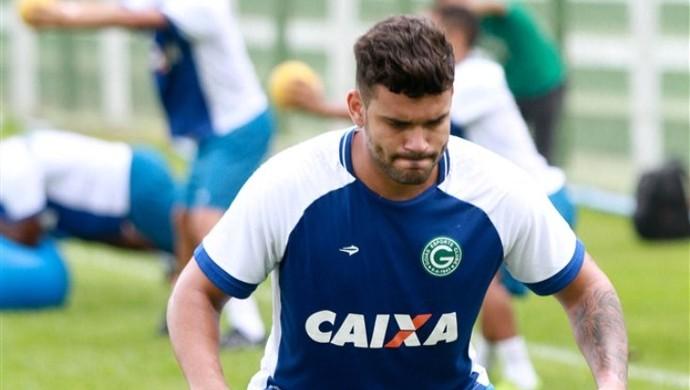 Indicado por Walter, Dodô treina na pré-temporada do Goiás (Foto: Rosiron Rodrigues / Goiás E.C.)