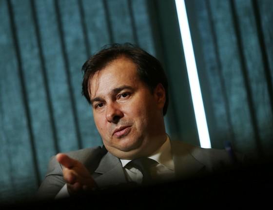 Rodrigo Maia presidente da Câmara (Foto:  Adriano Machado / Reuters)