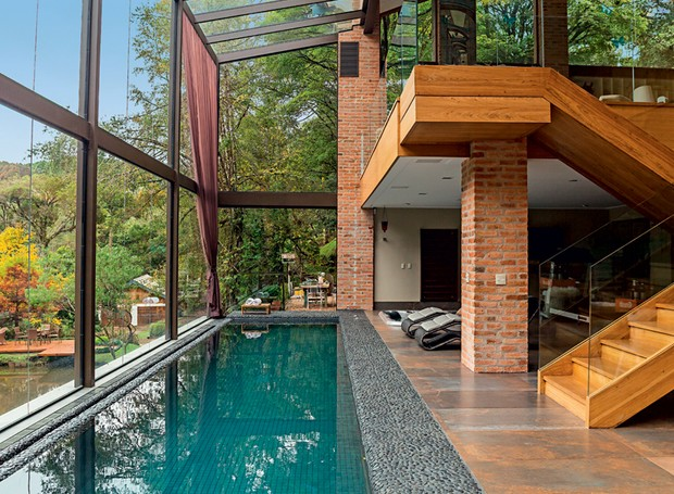 Piscinas 30 projetos de todos os tamanhos e estilos - Piscina para casa ...