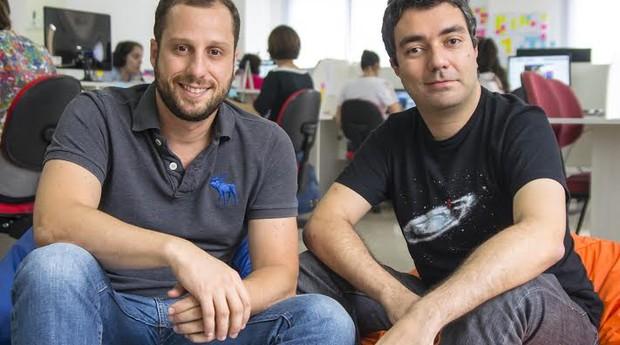 Gabriel Braga e André Penha, da Quinto Andar (Foto: Divulgação)