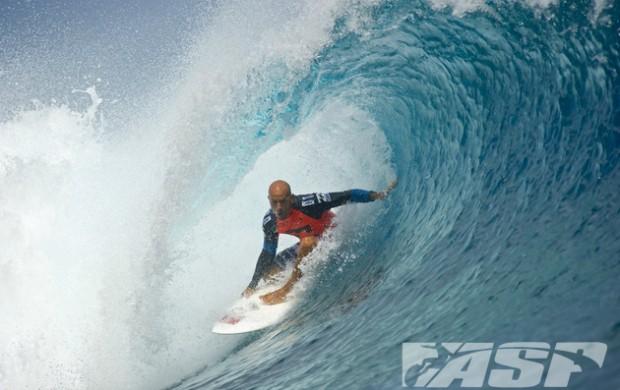 surfe Kelly Slater Mundial de Teahupoo Taiti terceira fase (Foto: Steve Robertson / ASP)
