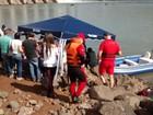Oito dias após barco virar, 2ª vítima é achada em barragem no Rio Uruguai