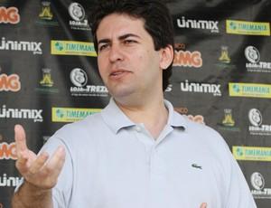 Fábio Azevedo, presidente do Treze (Foto: Leonardo Silva / Jornal da Paraíba)