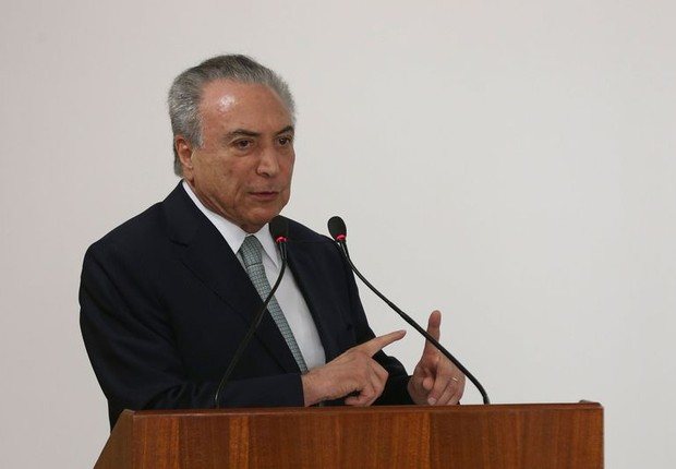 O presidente Michel Temer (PMDB) (Foto: Valter Campanato/Agência Brasil)