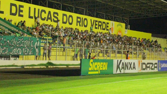 Estádio Passo das Emas Luverdense (Foto: Edivaldo Rios/Luverdense Esporte Clube)