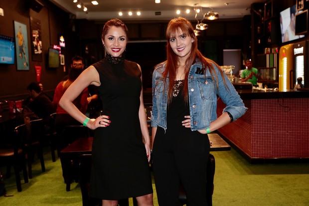 Maria Melilo e Tamires -  Ex BBB assiste a estreia do programa (Foto: Rafael Cusato/EGO)