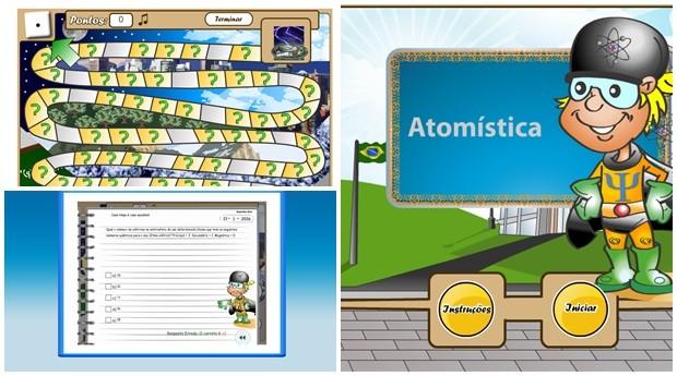 O game  Ludo Atomística  é constituído por 200 questões de múltipla escolha (Foto: Reprodução)