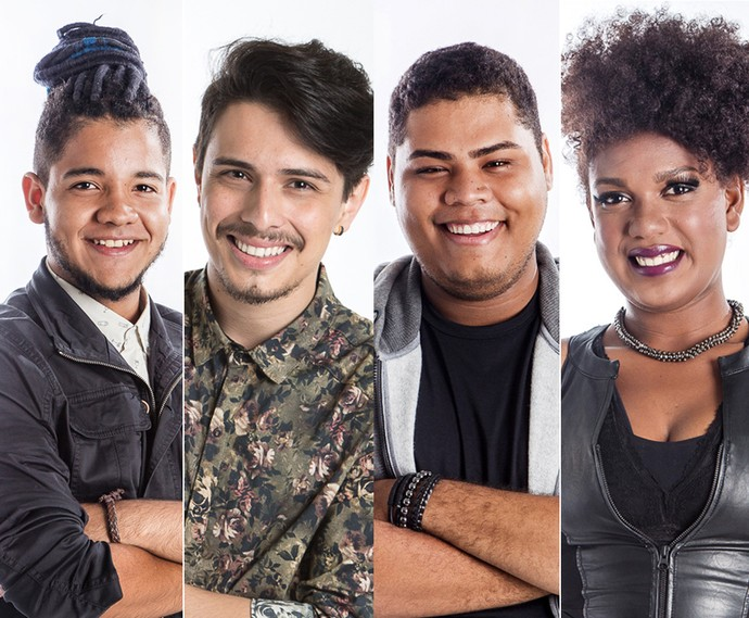 Vote nos finalistas da quinta temporada do The voice Brasil (Foto: Gshow)