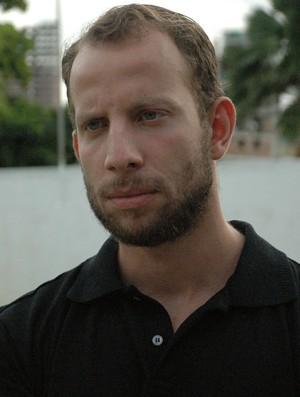 Marcos Aurélio Crispim, o Marcão, técnico do João Pessoa Espectros (Foto: Lucas Barros / Globoesporte.com/pb)
