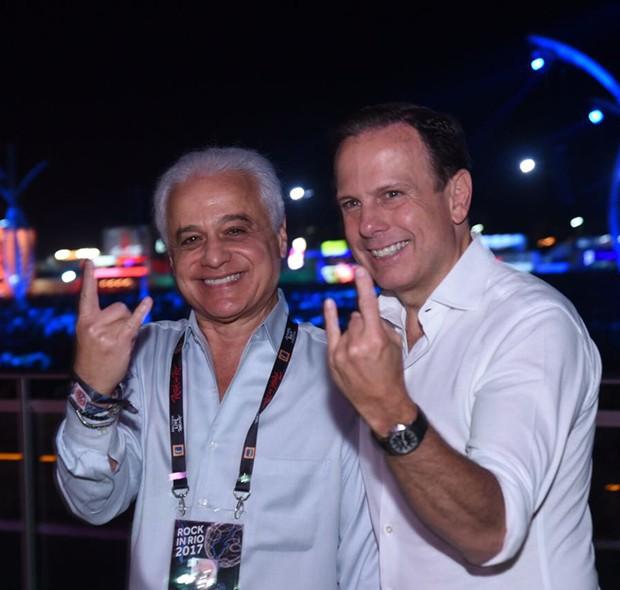 Roberto Medina e João Doria (Foto: Renato Wrobel/ QUEM)