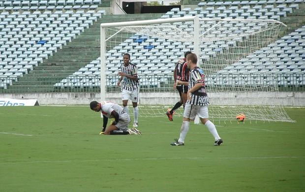 Romarinho, Rafael Aidar, Amistoso, Botafogo-PB, Vera Cruz-PB (Foto: Richardson Gray / Globoesporte.com/pb)
