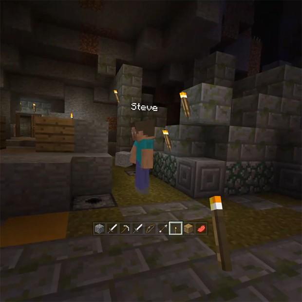 G1 -  Minecraft  chega ao Gear VR, óculos de realidade virtual da ... 3c40e33e92