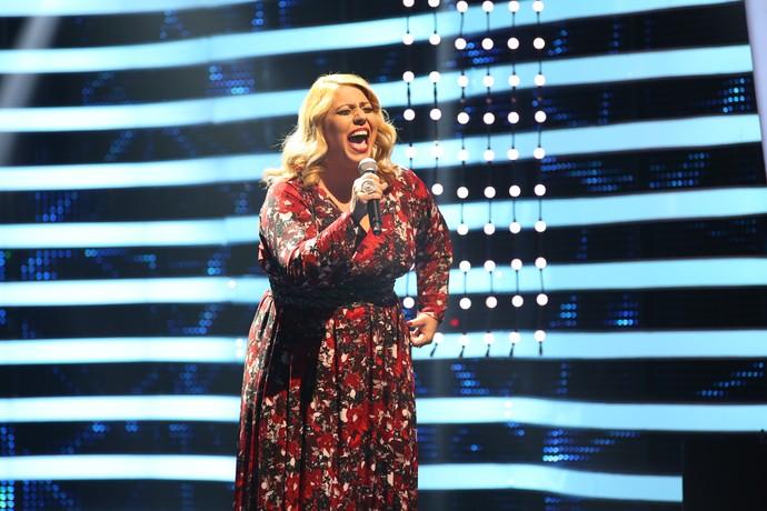 Angelica Sansone ficou entre os três finalistas do Iluminados (Foto: Carol Caminha/Gshow)