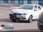 Capotagem provoca interdição de via em Campo Grande