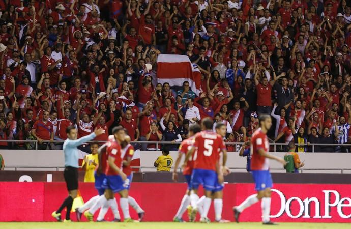Costa Rica 4 x 0 EUA Eliminatórias (Foto: AP)