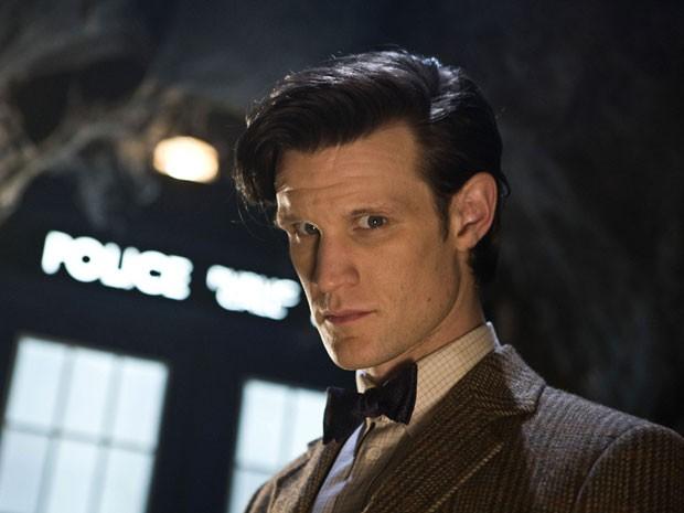 Matt Smith em 'Doctor Who' (Foto: Divulgação)