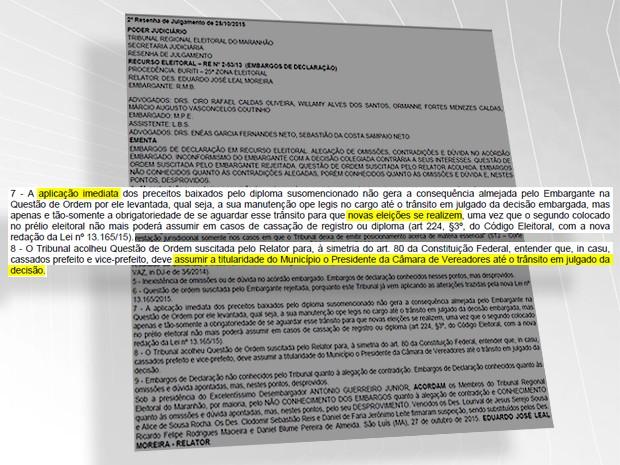 Decisão foi publicada no Diário Oficial da Justiça (Foto: G1)