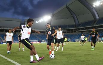 Seleção treina com reservas, e Tite adia escolha do substituto de Neymar