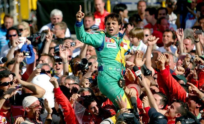 Para Felipe Massa, vitórias em Interlagos foram o melhor momento da carreira na Ferrari (Foto: Getty Images)