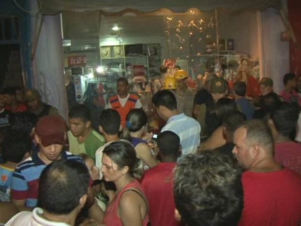 Moradores de Itaituba ficaram assustados com o crime. (Foto: Reprodução/TV Liberal)