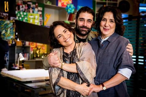 Regina Duarte e Juliana Carneiro da Cunha (Foto: TV GLOBO / João Miguel Júnior)