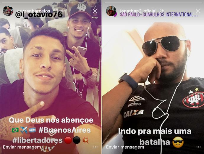 Crysan Jonathan Atlético-PR (Foto: Reprodução/Instagram)